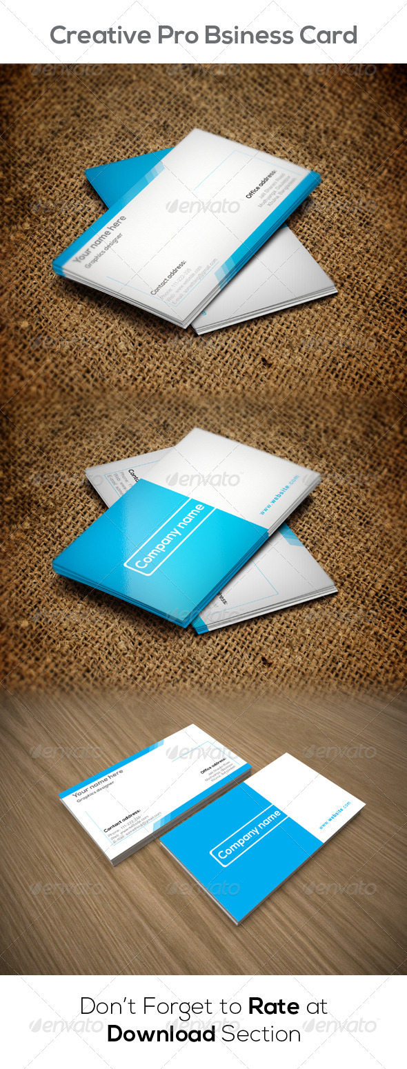 GraphicRiver Corporate Business Card 8549818