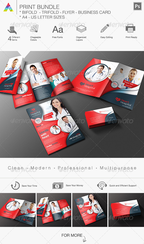 GraphicRiver Print Bundle 8550033