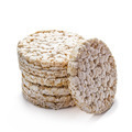 Rice cracker on white - PhotoDune Item for Sale