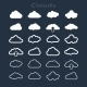 Set of Clouds - GraphicRiver Item for Sale