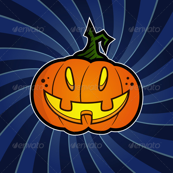 GraphicRiver Halloween Pumpkin 8550734