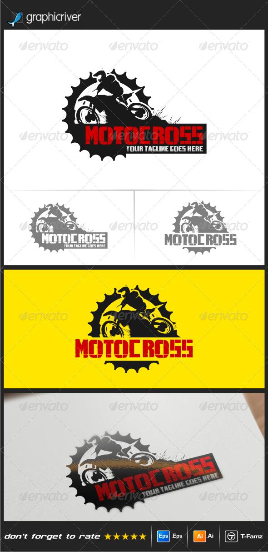 GraphicRiver Motocross Logo Templates 8550857