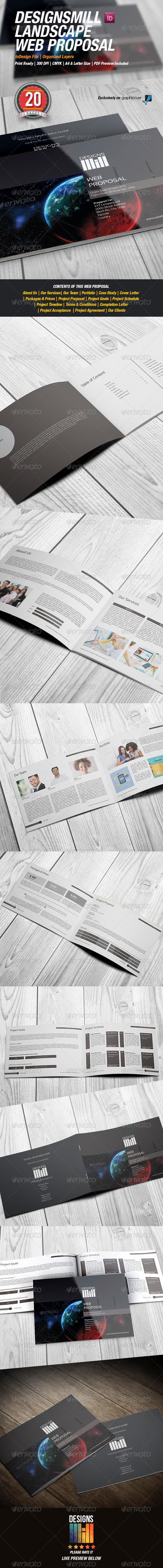 GraphicRiver DesignsMill Landscape Web Proposal 8550902