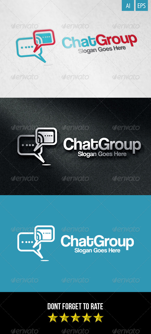 Chat Group Logo