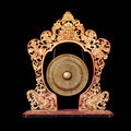 Vintage musical instrument - traditional Balinese Gong, isolated - PhotoDune Item for Sale