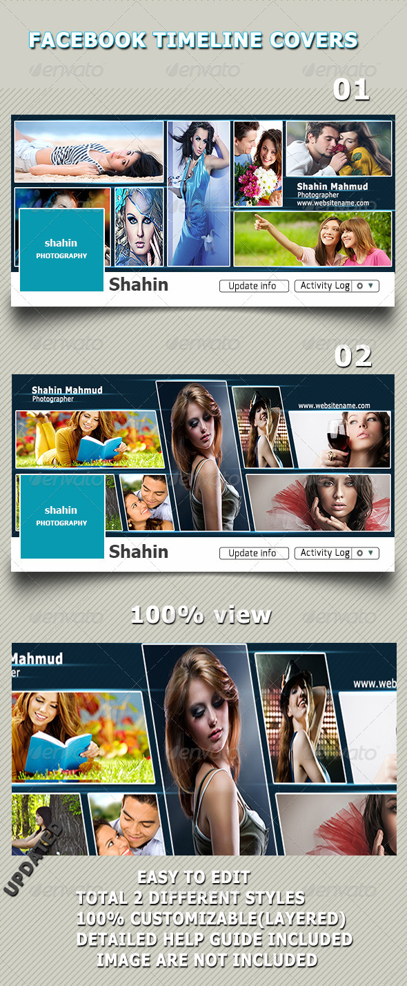 GraphicRiver Facebook Timeline Covers 8551563