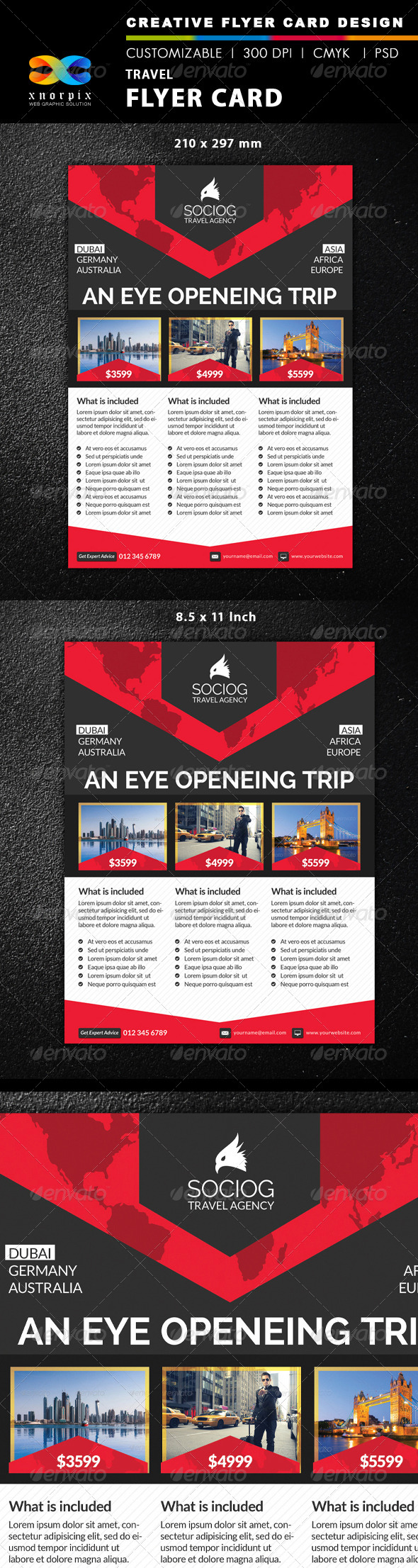 GraphicRiver Travel Flyer 8551660