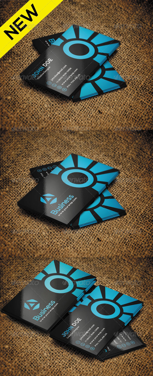 GraphicRiver Creative Business Card 5 8551738