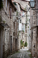 Old Stone Narrow Streets of Trogir, Croatia. - PhotoDune Item for Sale