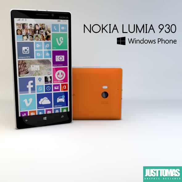 3DOcean Nokia Lumia 930 8552251