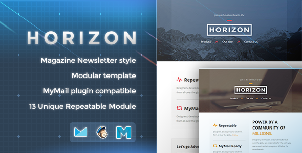 ThemeForest Horizon Responsive Email Template 8552466