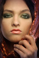 Woman wearing glamorous make up - PhotoDune Item for Sale