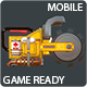 Chainsaw Low Poly Mobile Game Ready - 3DOcean Item for Sale