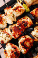 healthy shish kebab - ready grill barbecue