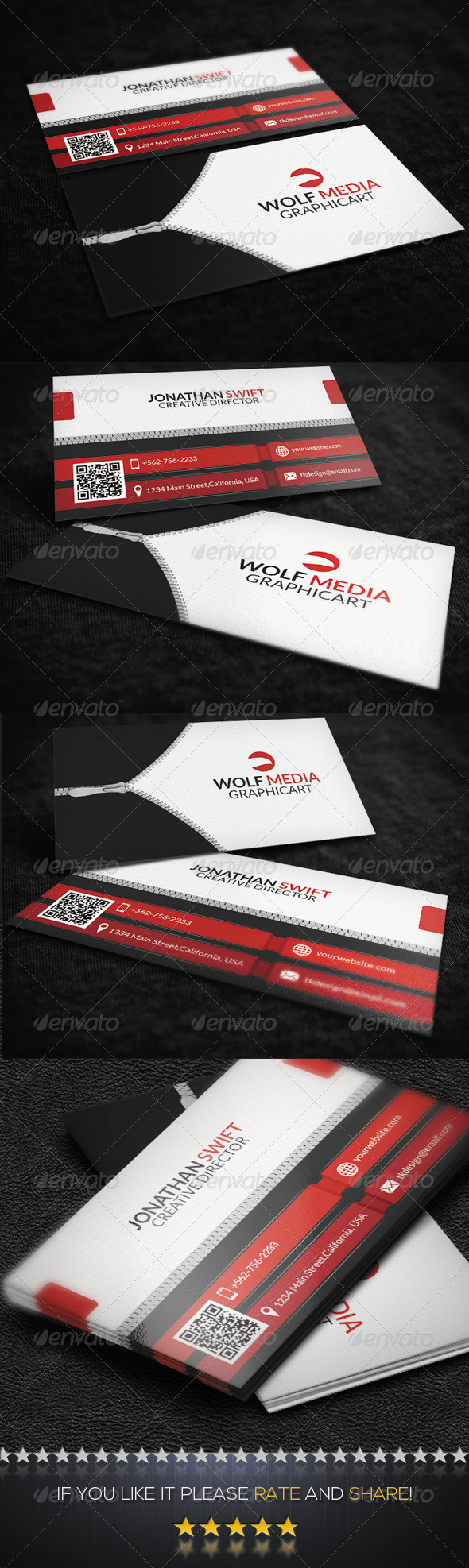 GraphicRiver Creative Corporate Business Card 8523713