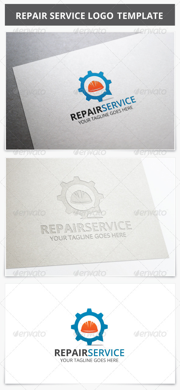 GraphicRiver Repair Service Logo 8553186