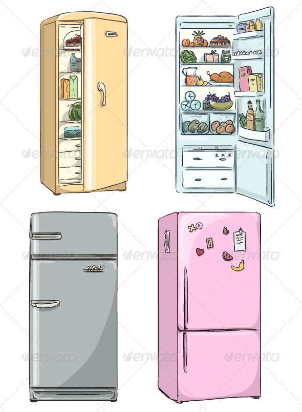 GraphicRiver Fridges 8553385