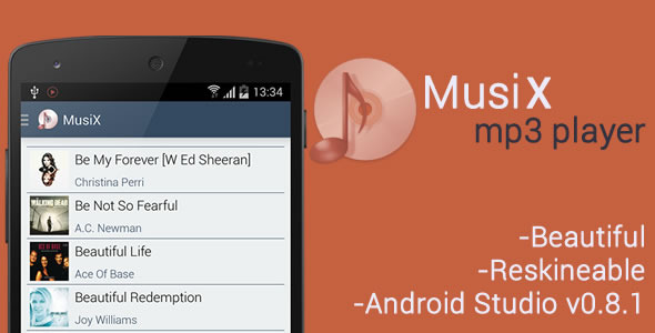 CodeCanyon MusiX Player for Android 8557504