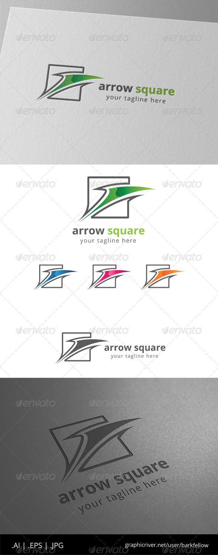 GraphicRiver Arrow Square Logo 8557542