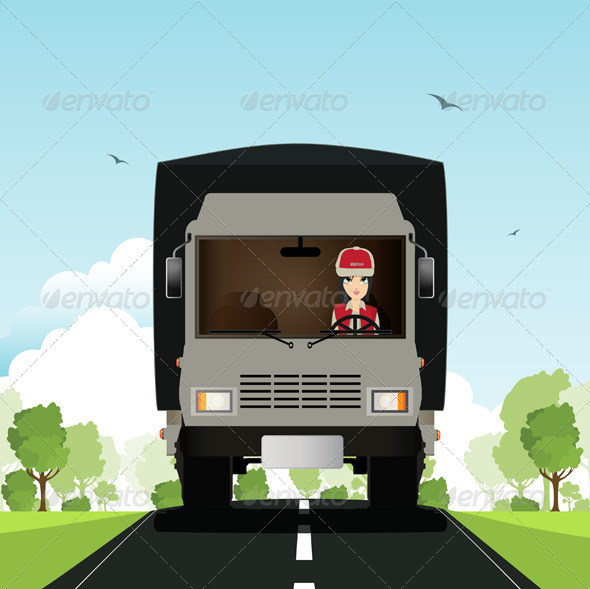 GraphicRiver Truck 8557635