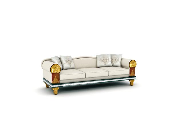 3DOcean Classic Sofa 8557674
