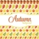 Shiny Autumn Natural Leaves Background - GraphicRiver Item for Sale