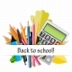 School Theme Background with Different Tools - GraphicRiver Item for Sale