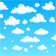 Cartoon Clouds - GraphicRiver Item for Sale