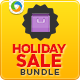 Holiday Sale Banner Bundle - 4 sets - GraphicRiver Item for Sale