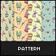 8 Sticker Monster Patterns - GraphicRiver Item for Sale