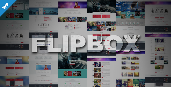 ThemeForest Flipbox Multi-Purpose Responsive Theme 8534673