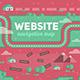Navigation Map of Website - GraphicRiver Item for Sale