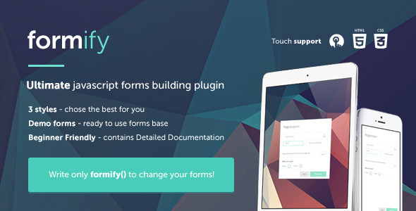 CodeCanyon Formify 8552608