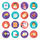 Customer Care and Commerce Icons - GraphicRiver Item for Sale