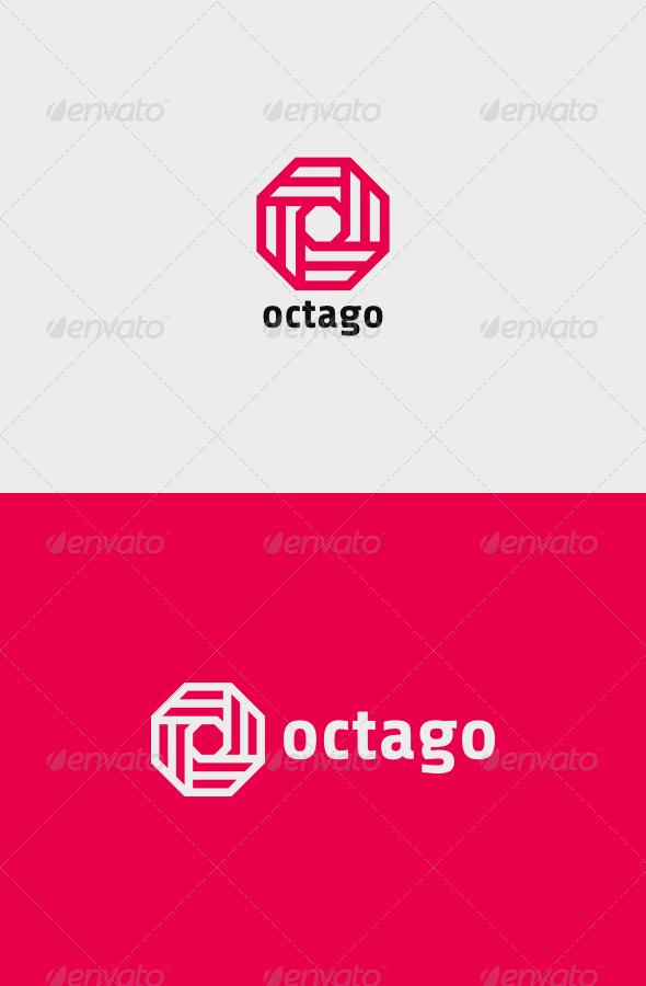 GraphicRiver Octago Logo 8558804
