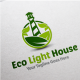 Eco Light House - GraphicRiver Item for Sale