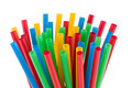 Colorful drinking straws background - PhotoDune Item for Sale