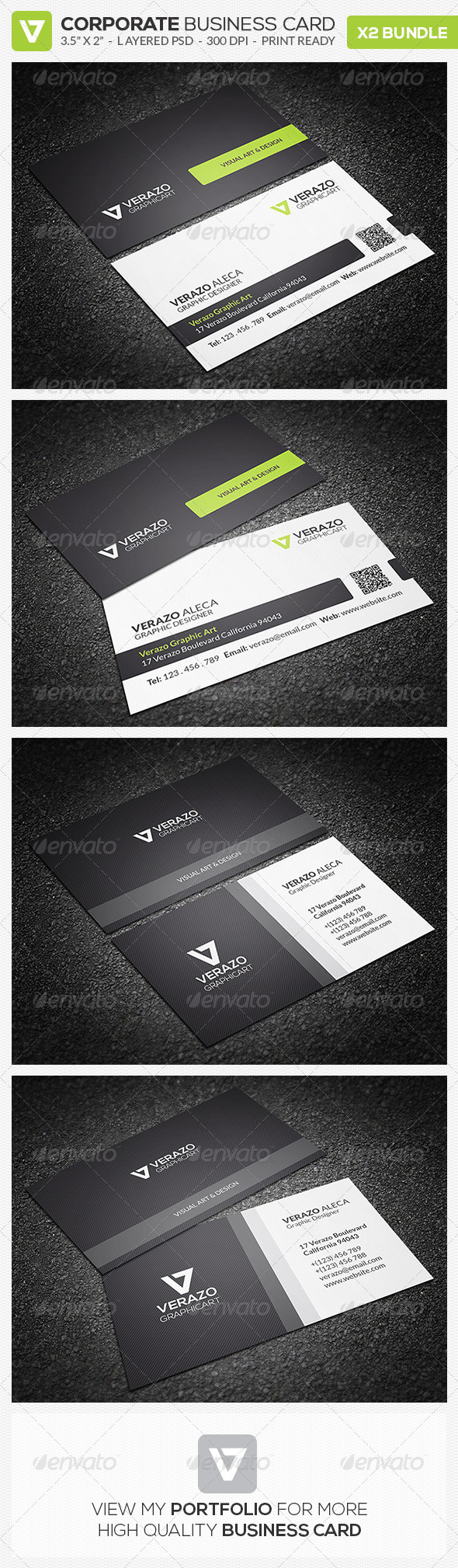 GraphicRiver Business Card Bundle 06 8560372