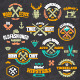 Retro Emblems Set - GraphicRiver Item for Sale