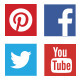 Flat Social Media Lower Thirds - VideoHive Item for Sale