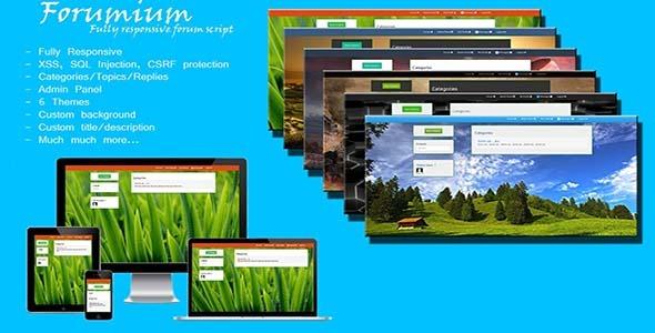 CodeCanyon Forumium Fully Responsive Forum Script 8509543