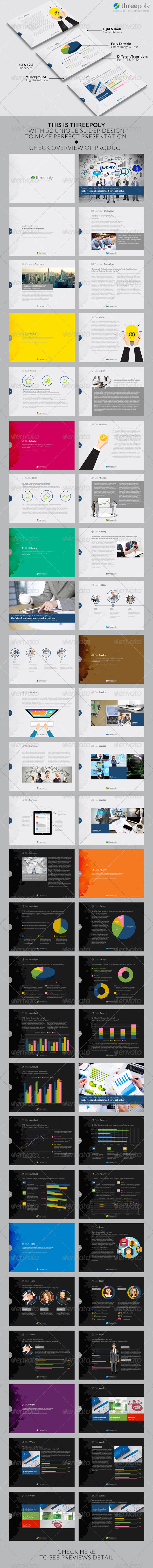 GraphicRiver Threepoly Powerpoint Template 8545089