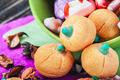 jujube and pumpkin souffle - PhotoDune Item for Sale