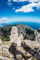 shadows of people photographing High rocks Crimean mountains - PhotoDune Item for Sale