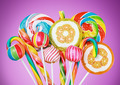 Colorful candies and lollipop - PhotoDune Item for Sale