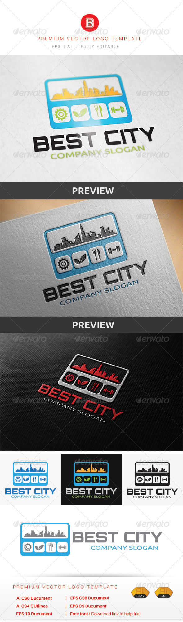 GraphicRiver Best City 8560835