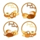 Fresh Baking Price Badges - GraphicRiver Item for Sale