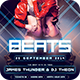 Beats Flyer - GraphicRiver Item for Sale