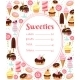 Sweets Menu or Price List Template - GraphicRiver Item for Sale