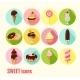 Collection of Sweet Icons - GraphicRiver Item for Sale